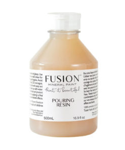 pouring resin fusion